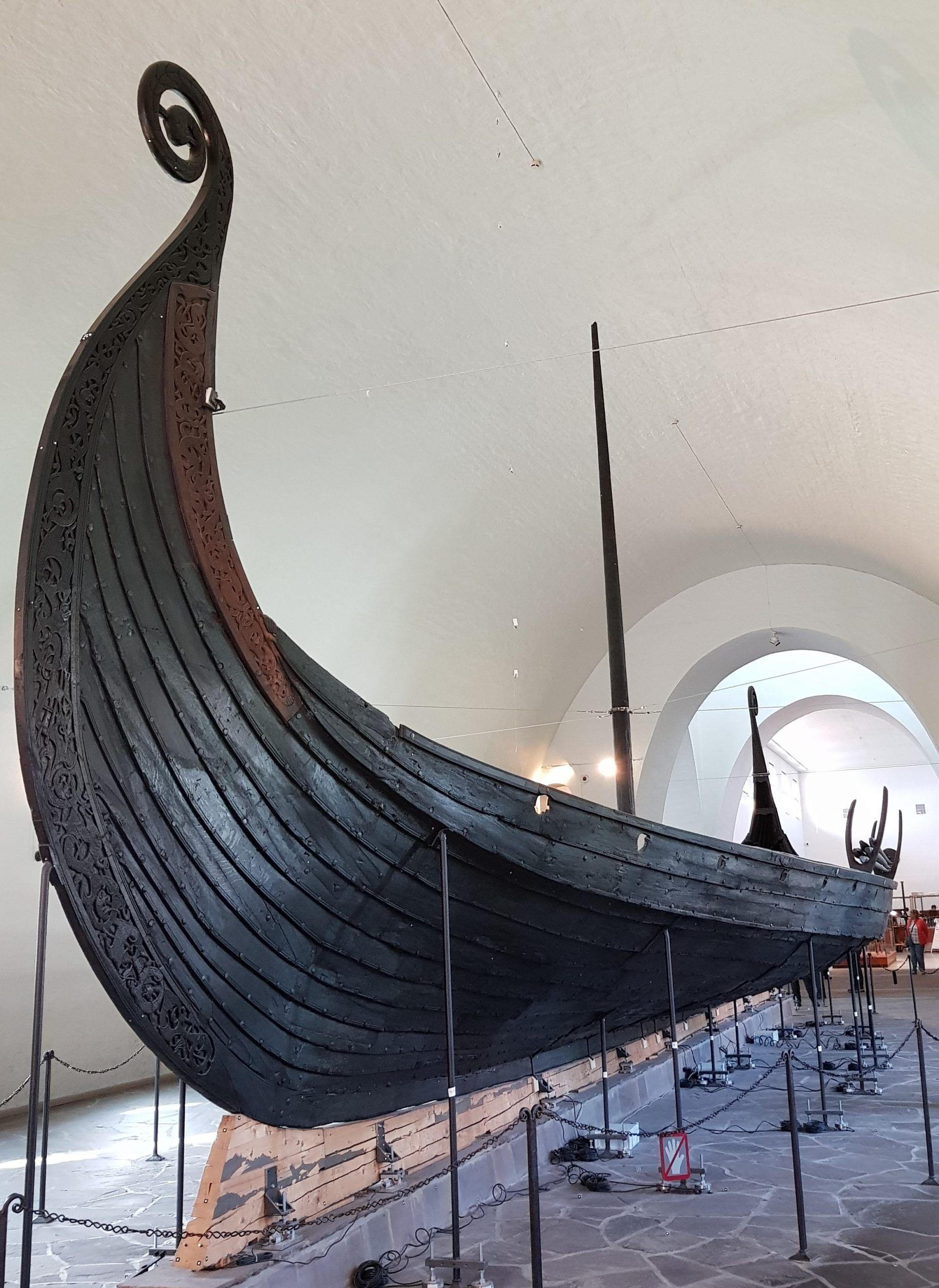 Barcos Vikingos mejor conservados en Oslo