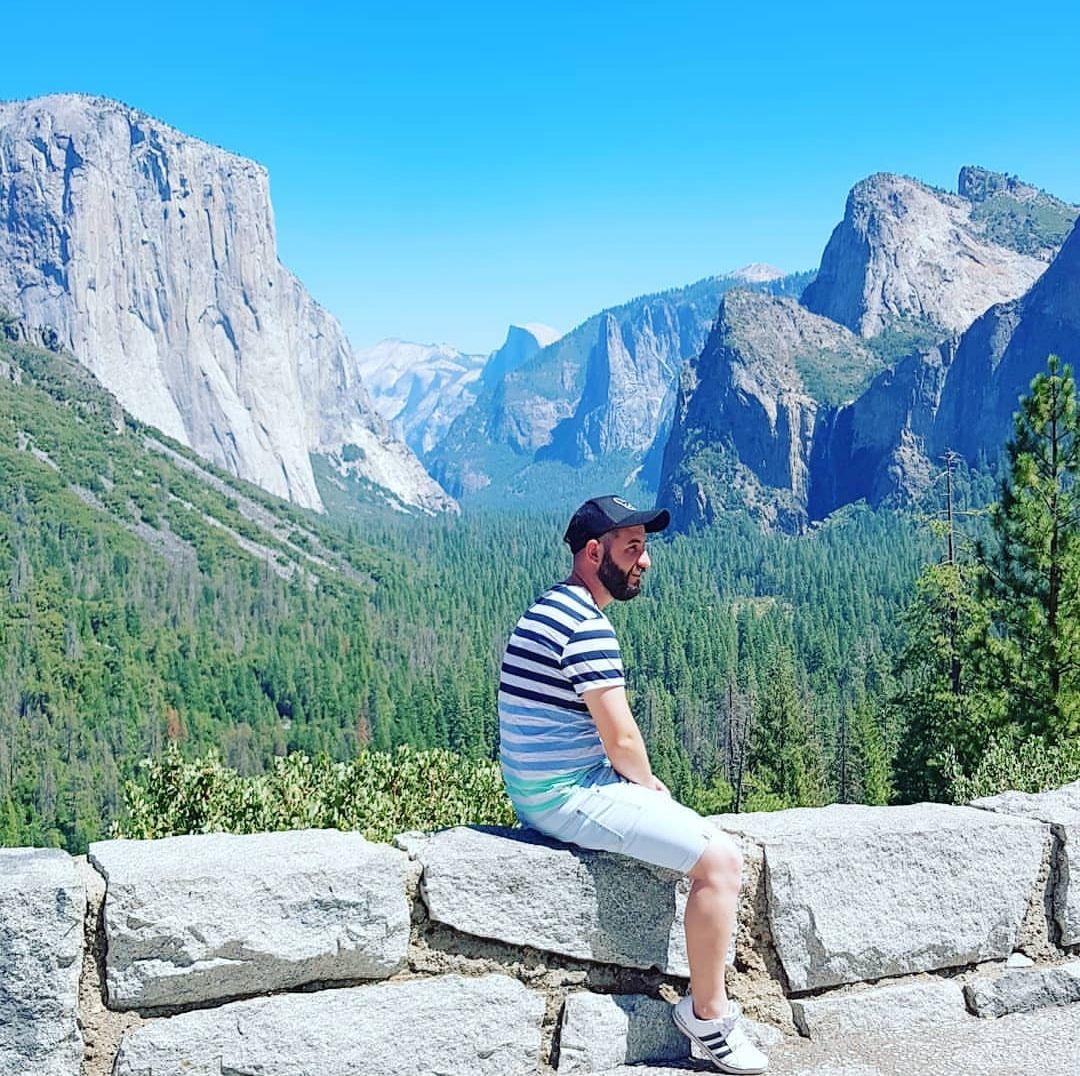 Sobre la página de los viajes de Isgoga (YOSEMITE CALIFORNIA)