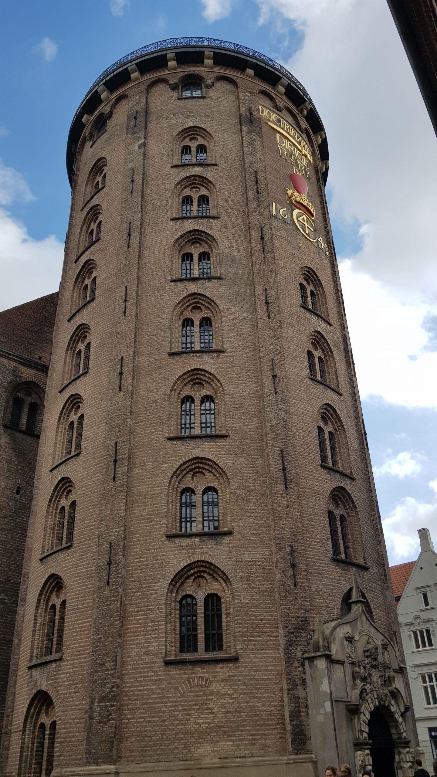 Observatorio Torre Rundetarn en Copenhague.
