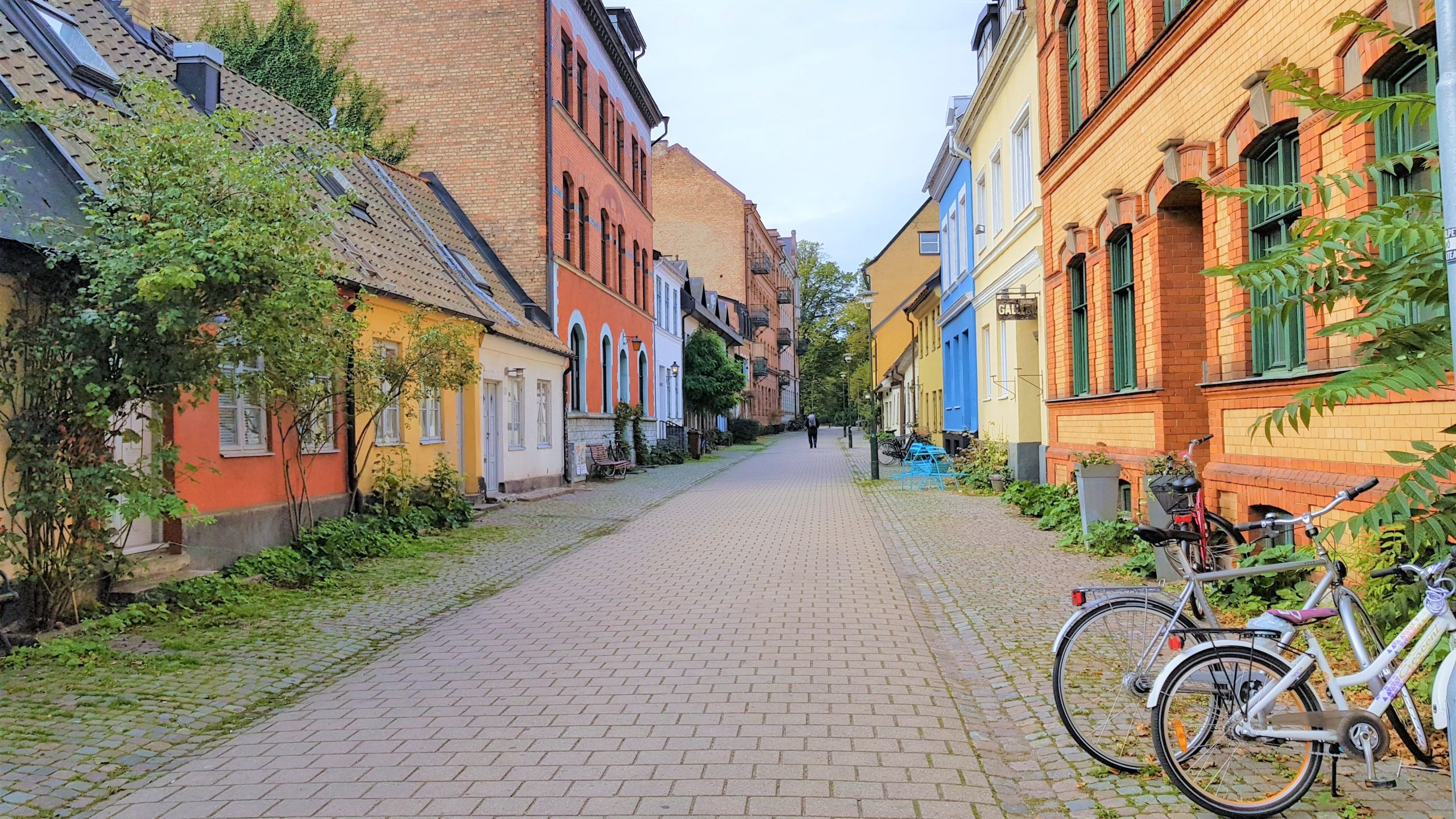 casas de colores calle de malmo