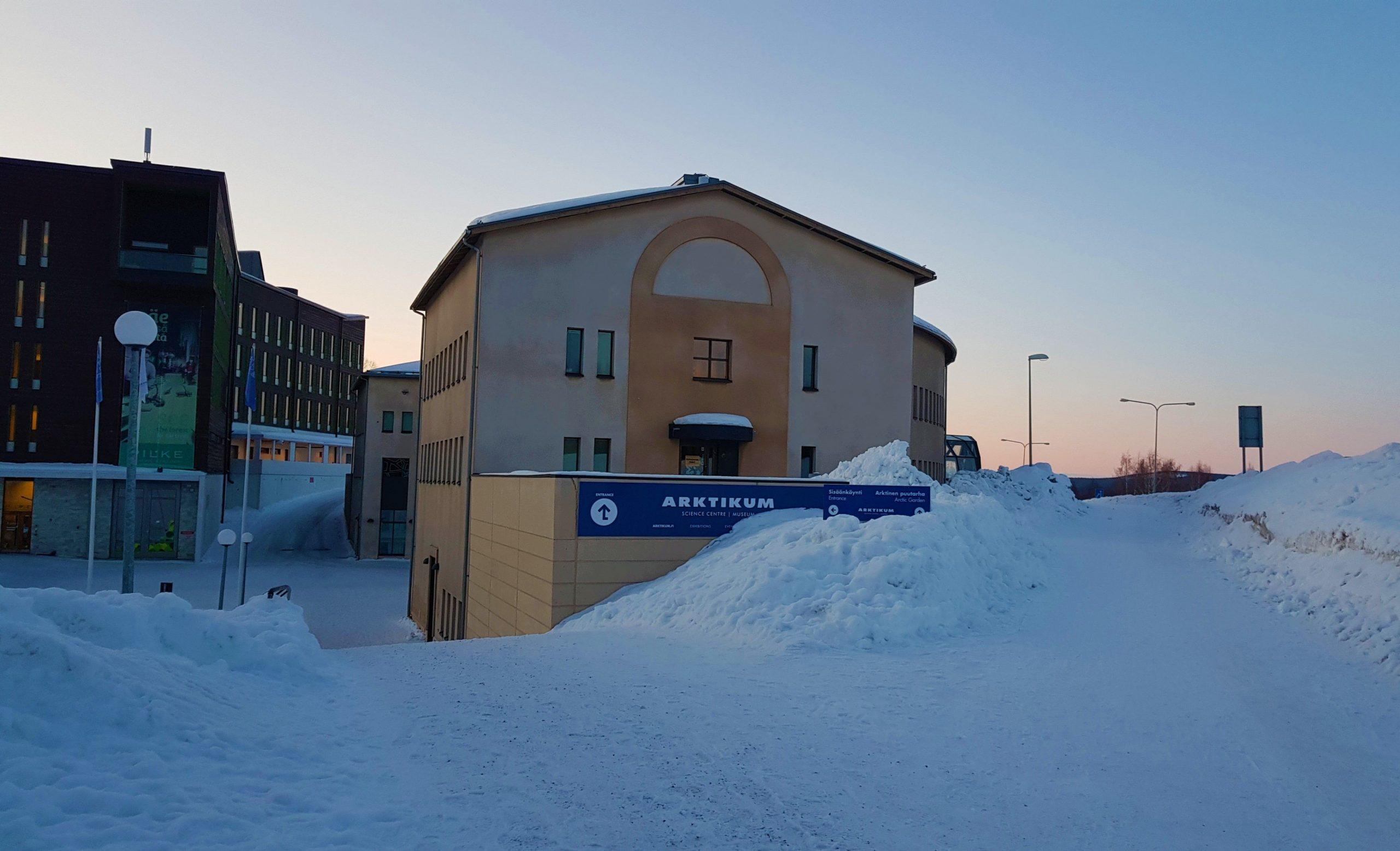 Museo Arktikum nevado