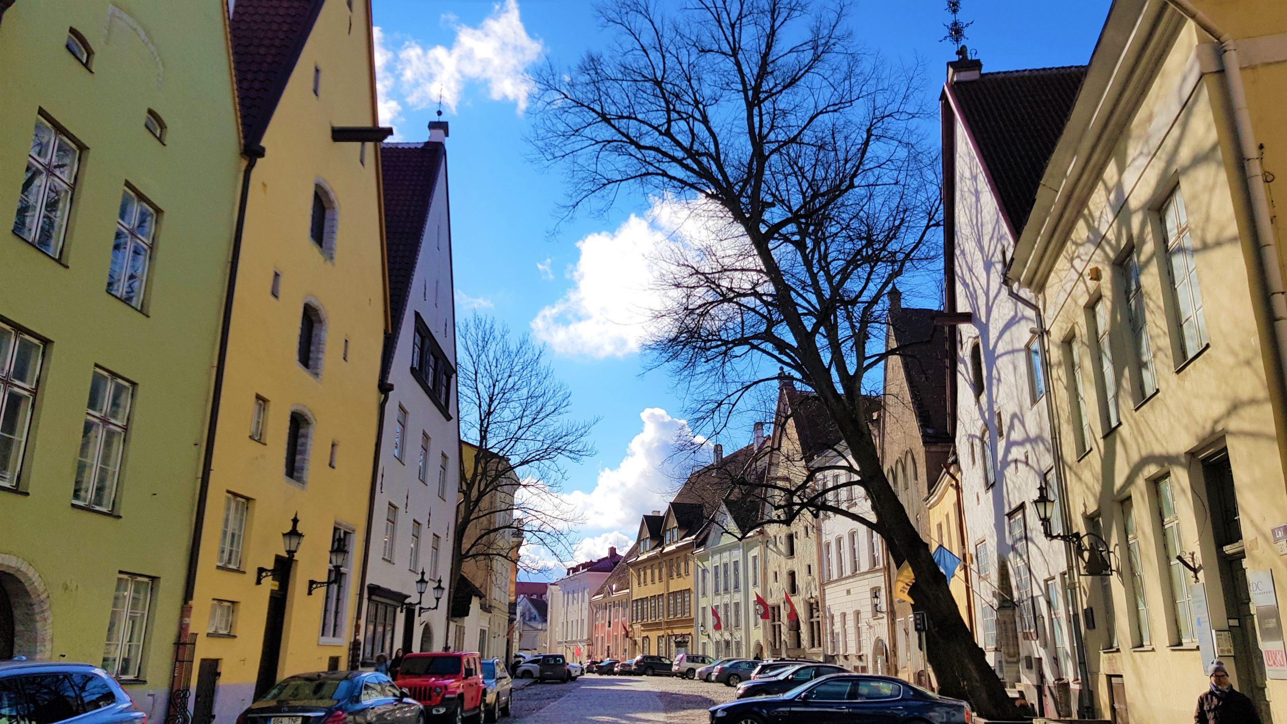 Casas medievales de Tallin