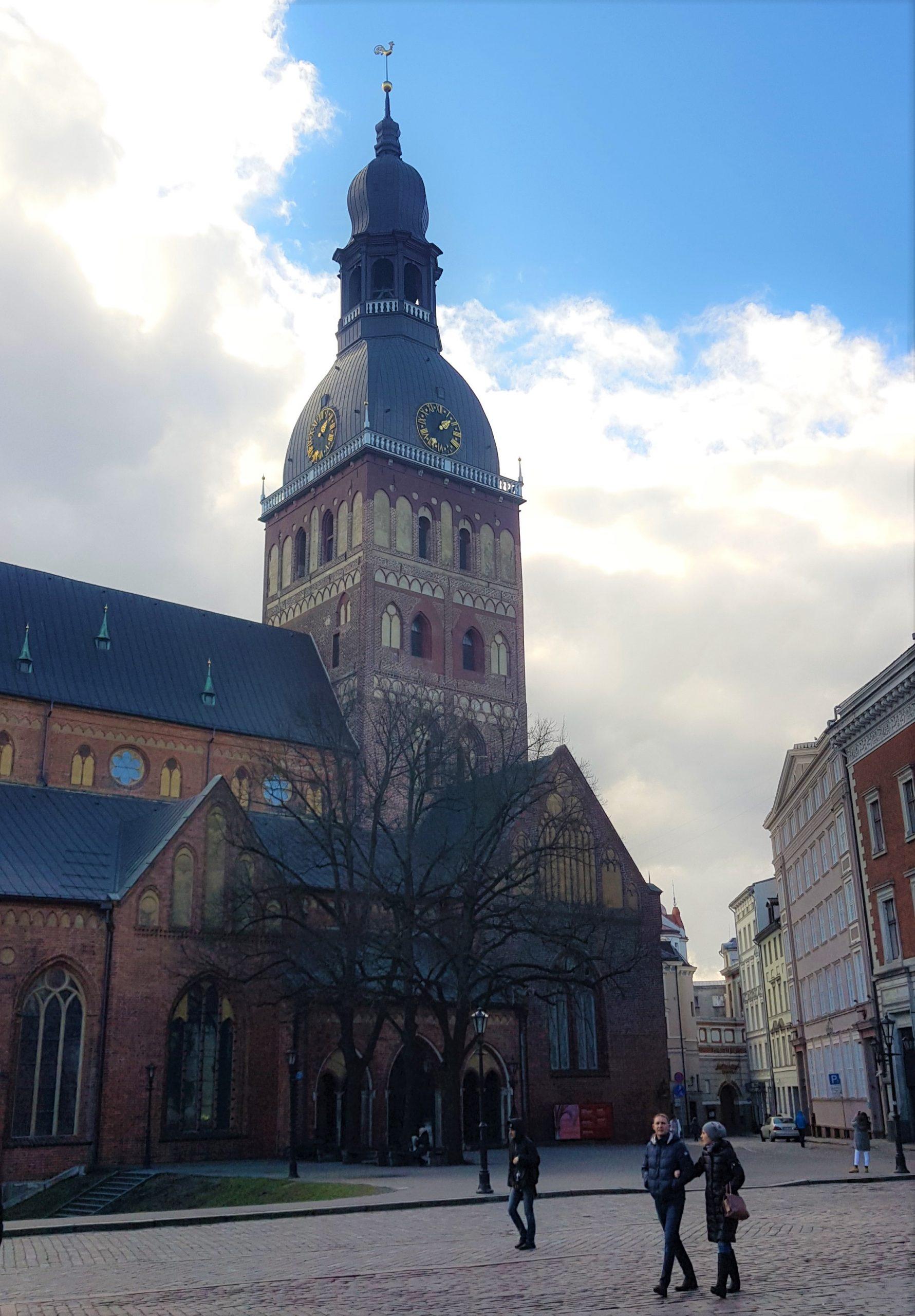 Campanario de la catedral de Riga