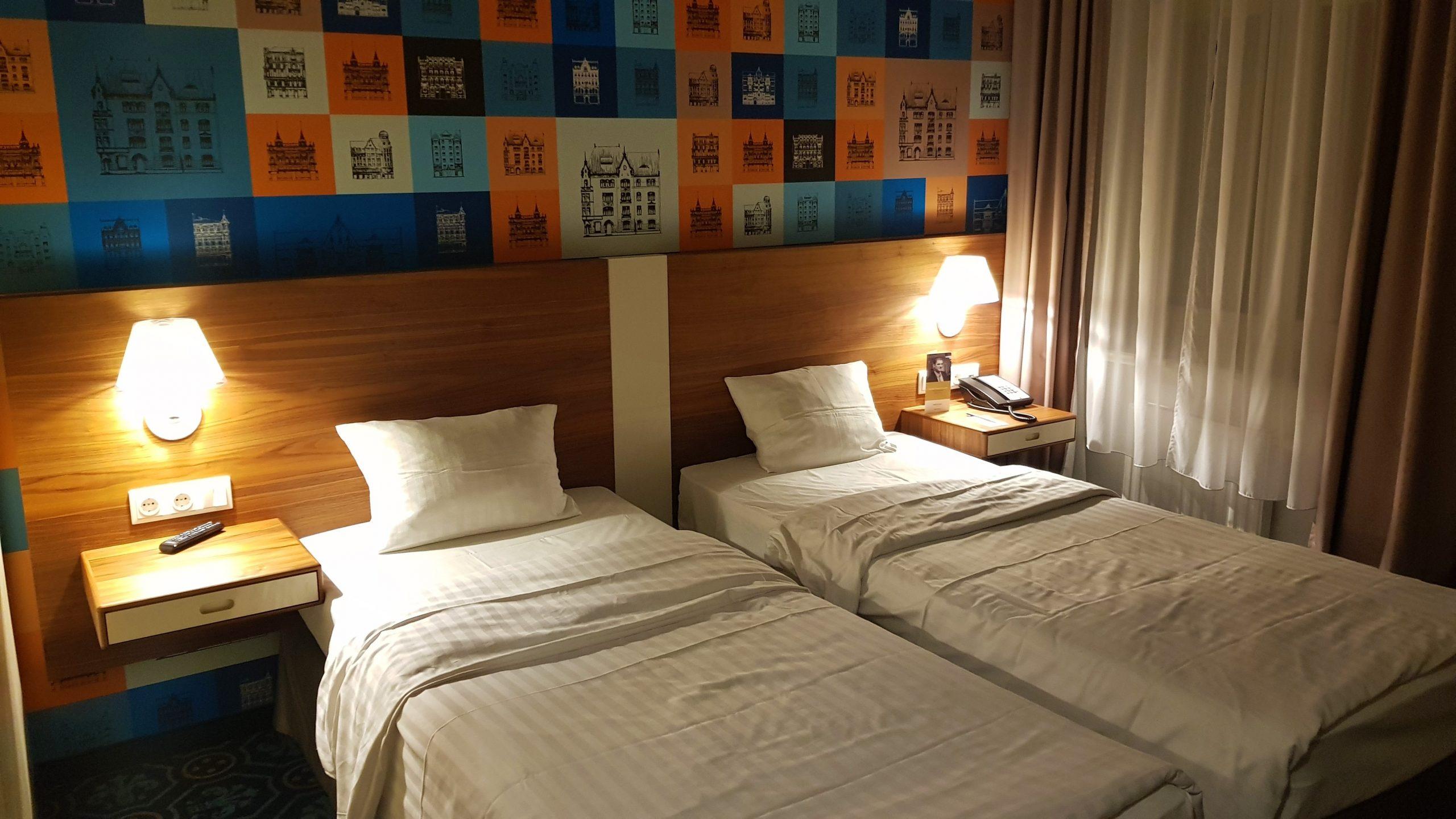 Habitación del Hotel Mercure de Riga