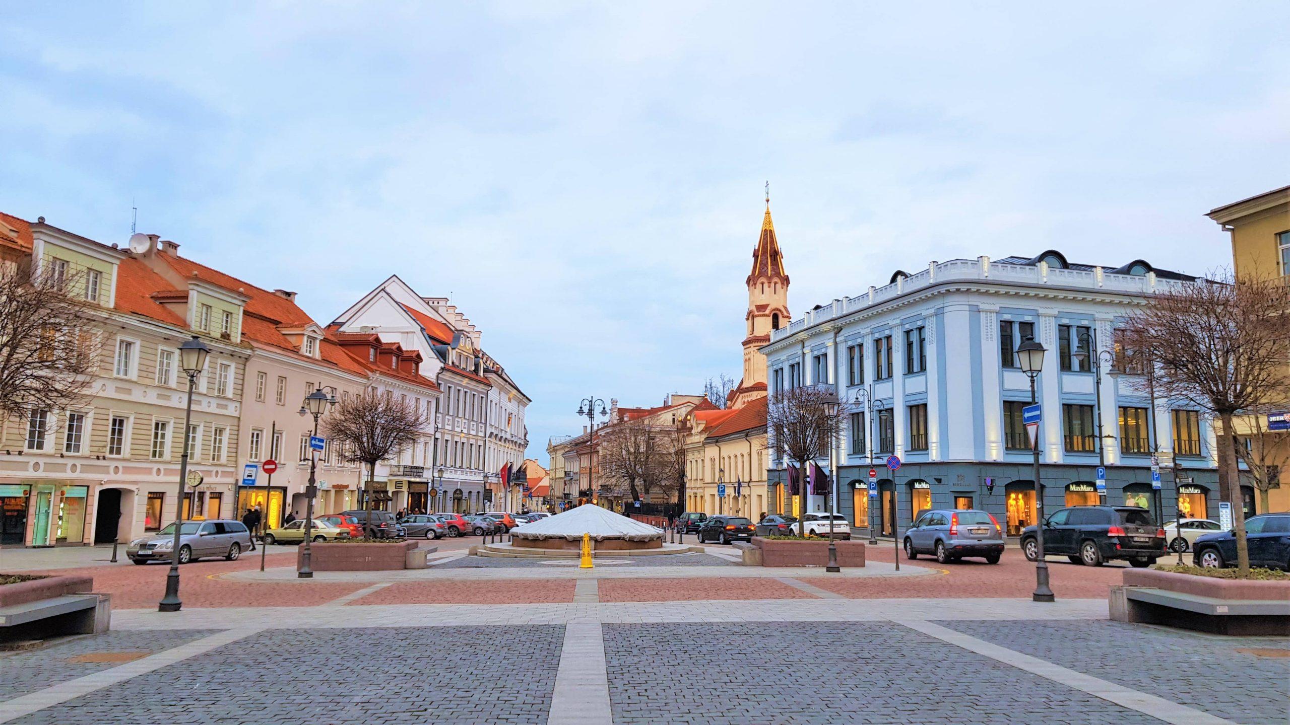 Plaza del ayuntamiento de Vilna