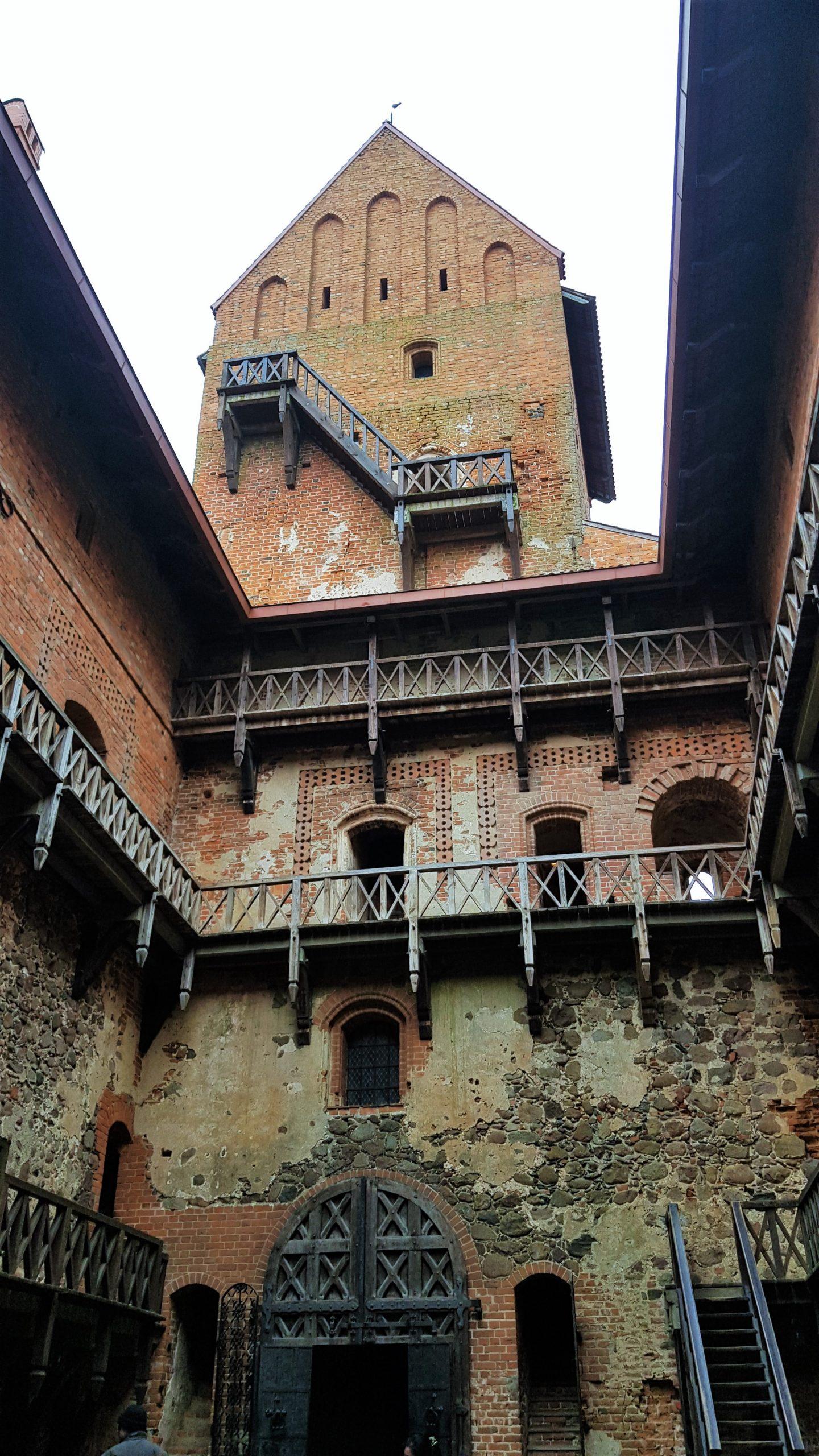 Patio interior castillo de trakai