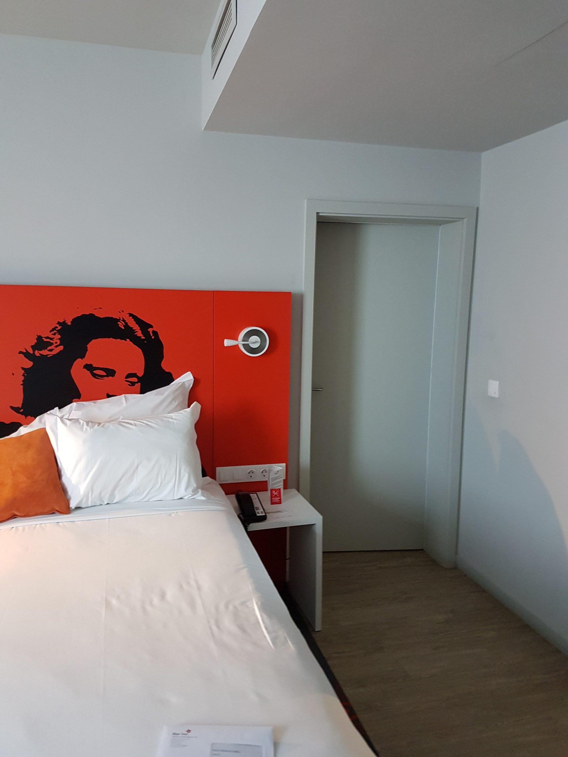 viaje a Portugal, habitación del hotel Star Inn de Lisboa