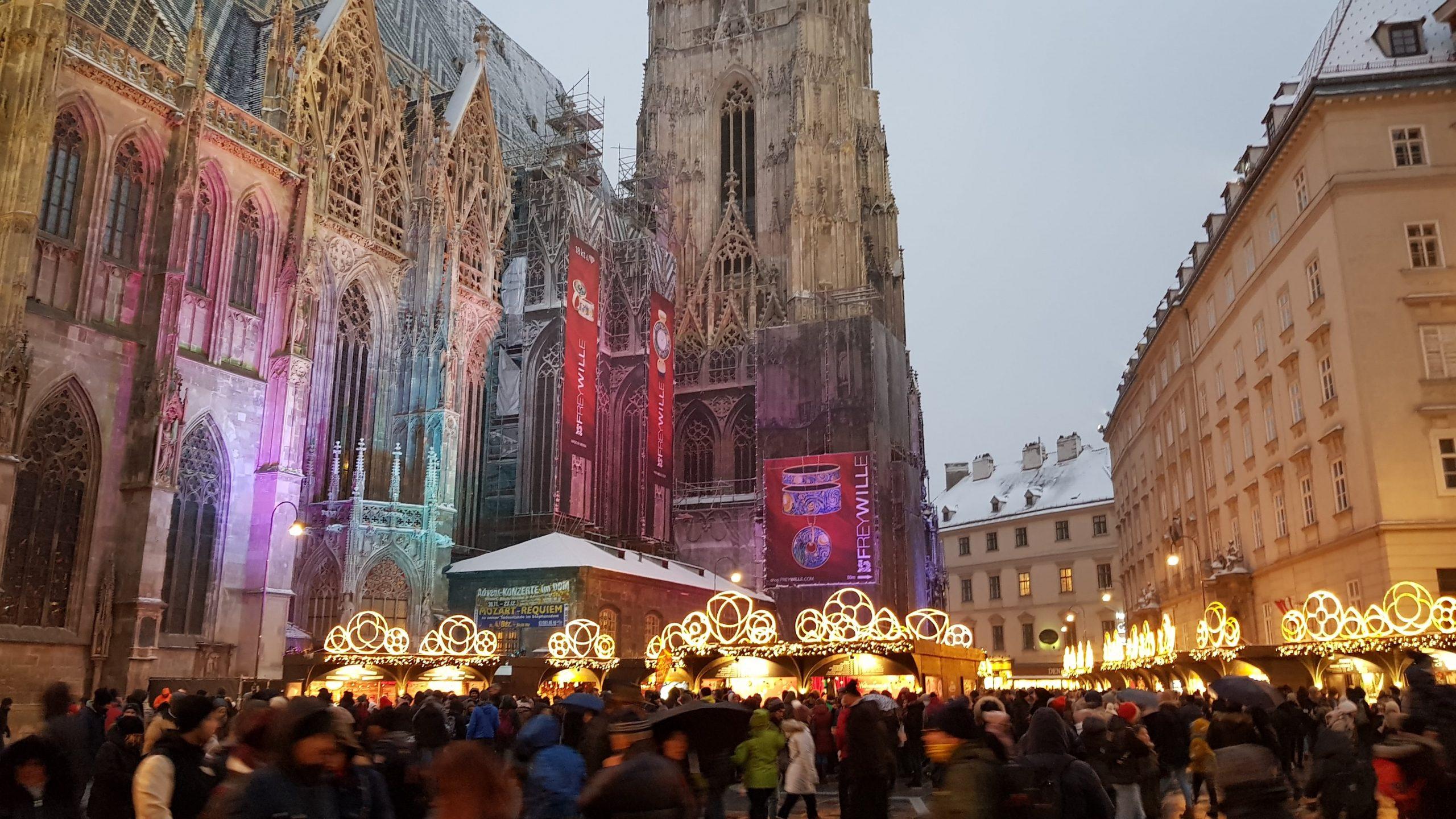 Exterior de la catedral de Viena